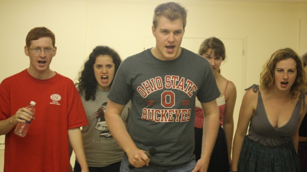 Blah, Blah, Blah, Blah!!!! - Mathew Hawley (Otto) from Norwood, Ma, Kristen McCusker (Martha) from Westford, Ma, Daniel Buckley (Hanschen) from Mansfield, Ma, Sarah Shear (Ensemble) from Mansfield, Ma and Jessica Aspeel (Anna) from North Providence, RI.