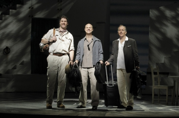 Patrick Boll, John Hemphill and David Beach at MAMMA MIA's Current Broadway Cast in Action!