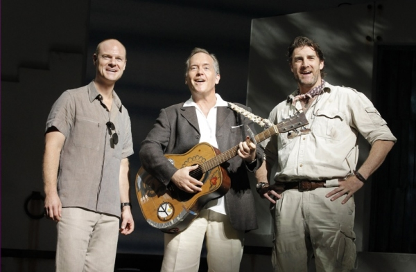 John Hemphill, David Beach and Patrick Boll at MAMMA MIA's Current Broadway Cast in Action!