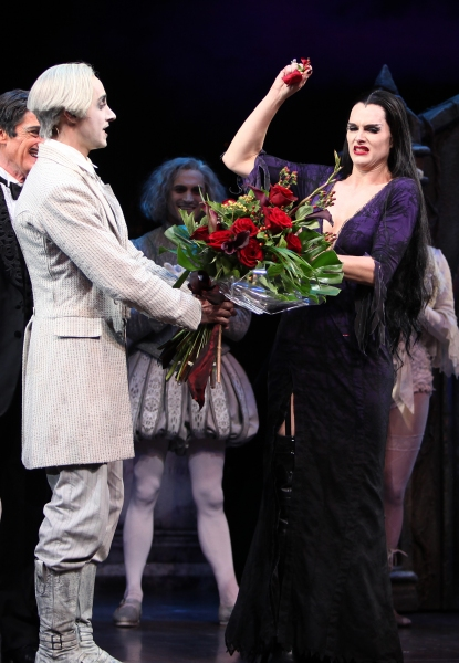 FREEZE FRAME: Brooke Shields Officially Opens in THE ADDAMS FAMILY!