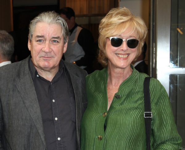 Patrick McGrath & Maria Aitken attending the Opening Night Performance of The Masnhattan Theatre Club's  'Master Class' at the Samuel J. Friedman Theatre in New York City.