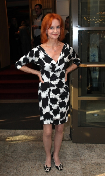 Swoozie Kurtz attending the Opening Night Performance of The Masnhattan Theatre Club's  'Master Class' at the Samuel J. Friedman Theatre in New York City.