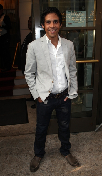 Matthew Lopez attending the Opening Night Performance of The Masnhattan Theatre Club's  'Master Class' at the Samuel J. Friedman Theatre in New York City.