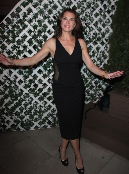 Photo Coverage: THE ADDAMS FAMILY Welcomes Brooke Shields - After Party