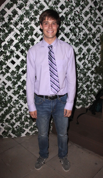 Jesse Swenson attending the After Performance Reception for Brooke Shields debut in 'The Addams Family' at the Empire Hotel Roof in New York City.