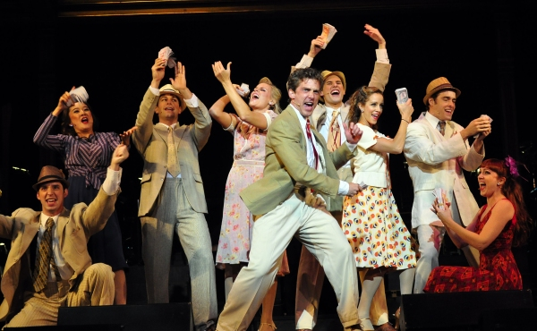 Kevin Kern and the cast of Pittsburgh CLO's Love Changes Everything singing selections from Evita