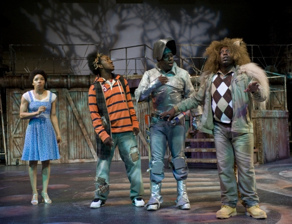 Adrianna Parson, Darius Colquitt, Jesse Dean Stanford & James Earl Jones II at Theatre at the Center Presents THE WIZ