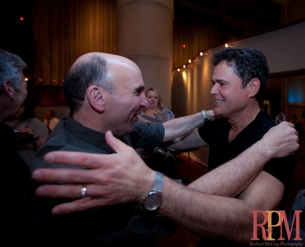 Levon Ichkhanian, Colm Wilkinson, Deirdre Wilkinson and Jeff Madden Toronto's Frankie Photo