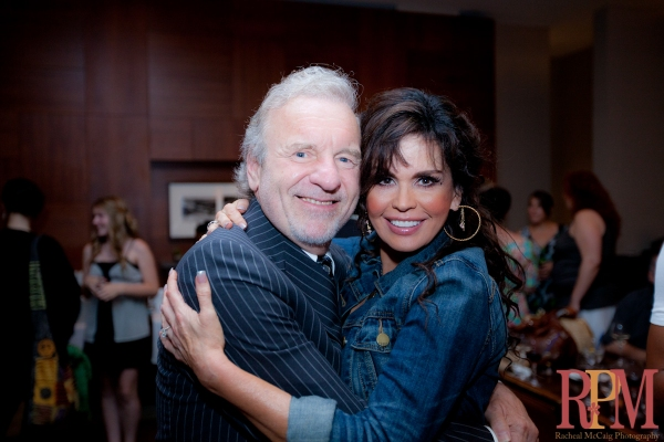 Colm Wilkinson and Marie Osmond Photo