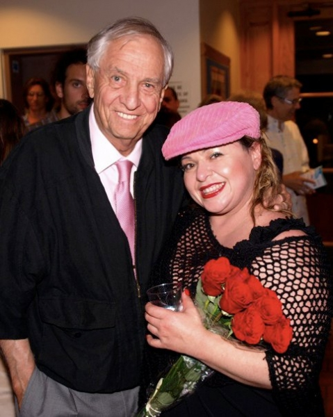 Lisa Valenzuela and Garry Marshall at Opening Night of Troubadour Theatre Company's FLEETWOOD MACBETH