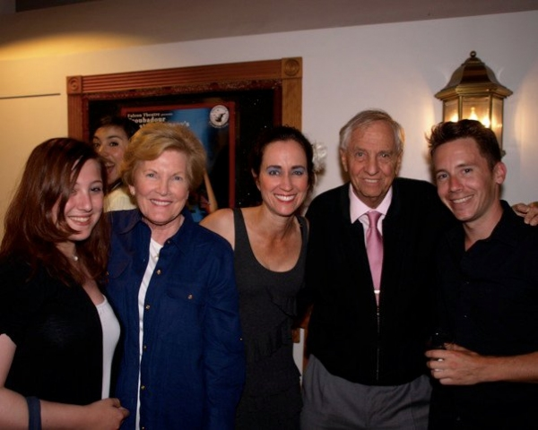 Beth Kennedy, Garry Marshall, Joseph Keane at Opening Night of Troubadour Theatre Company's FLEETWOOD MACBETH