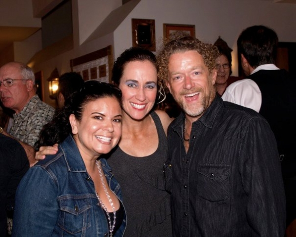 Beth Kennedy at Opening Night of Troubadour Theatre Company's FLEETWOOD MACBETH