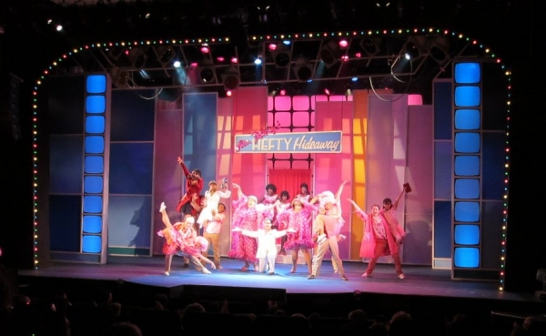 "Bill Evans, Roger DeWitt (Mr. Pinky) and Danielle Arci in ""Welcome To the 60's"""