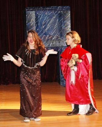 Ellie Namatinia as Milady and Daisy Macdonald as Cardinal