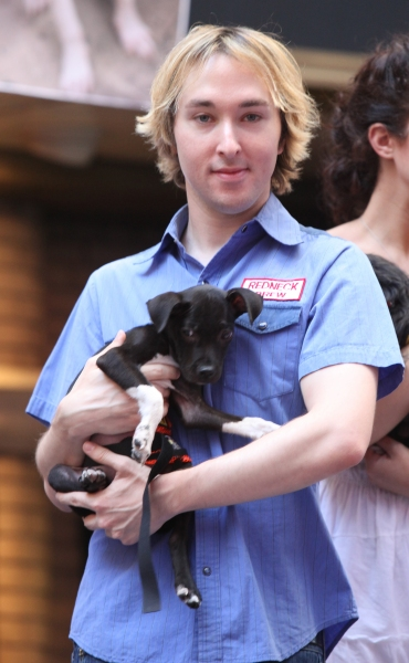 Michael Alden attending the Presentation for Broadway Barks Lucky 13th Annual Adopt-a-thon  in New York City.  at Broadway Barks 13th Annual Adopt-A-Thon Presentation