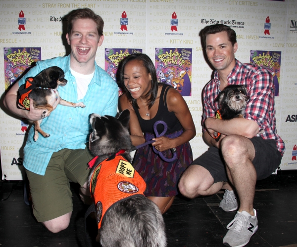 Photos: Backstage at Broadway Barks 13th Annual Adopt-A-Thon (Part Two)