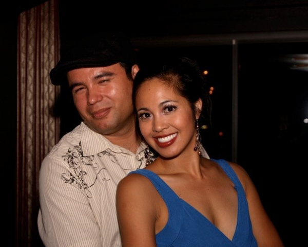 Jasmine Ejan and her husband