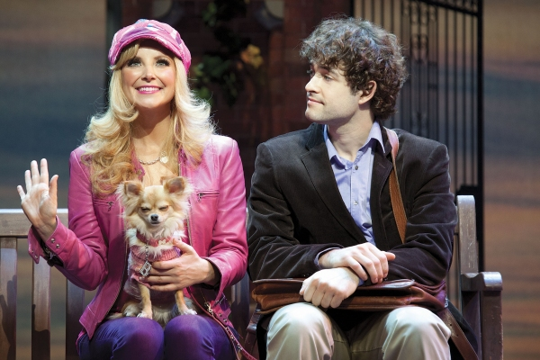 Carley Stenson and Lee Mead