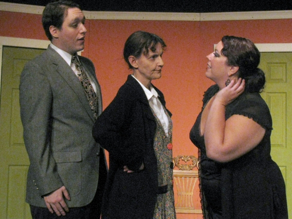 Tami Feist, John Bergeron, Susan Blair