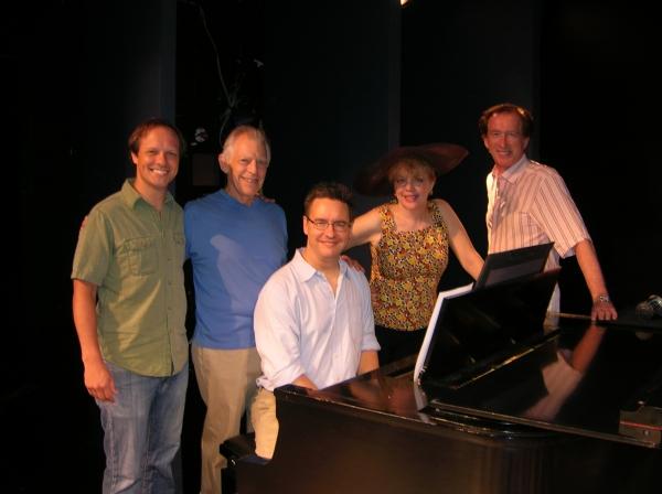 Jim Stanek, Michael Montel, Greg Pliska, KT Sullivan and Peter Land Photo