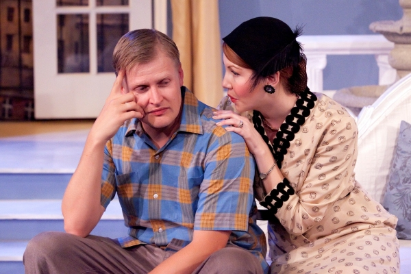 Brian Landis Folkins and Rachel Bouchard