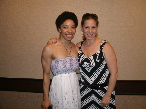 Adrianna Parson and Stacey Flaster at Theatre at the Center Opens THE WIZ!