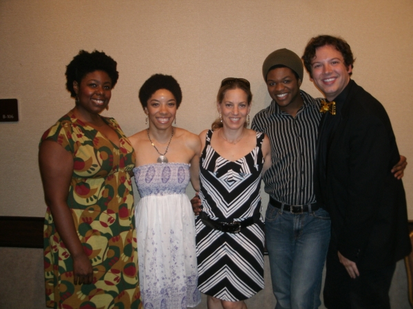 Joelle Lamarre, Adrianna Parson, Stacey Flaster, Jaymes Osborne