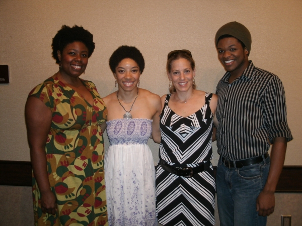 Joelle Lamarre, Adrianna Parson, Stacey Flaster, Jaymes Osborne, and Kyle Dougan at Theatre at the Center Opens THE WIZ!