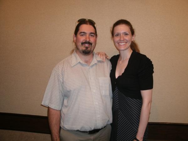 Tim Fandrei and Libby Fandrei