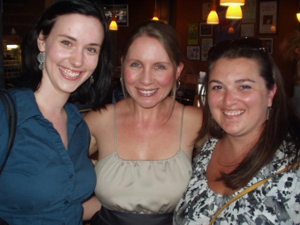 Erin Randolph, Robyn Berg & Katie Veglio