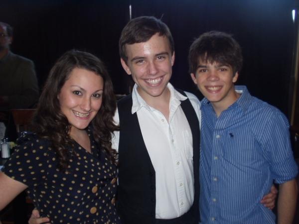 Delaney Amatrudo, Spencer Dean and Christian Albright-Redden