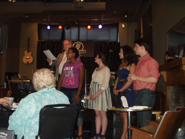 Brandy Rogers, Christy White, Faith Kelm and Thomas Harton