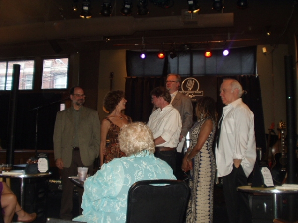 Gary Hoff, Pam Atha, Dan Brewer, Helen Shute-Pettaway and Danny Proctor