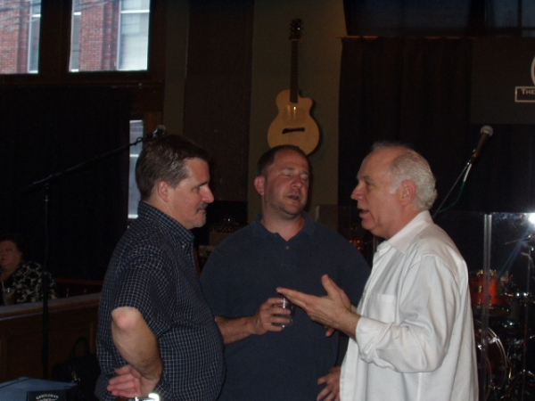 Clay Hillwig, Jim Manning and Danny Proctor