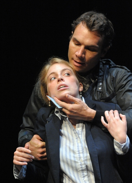 Adam Ludwig as Tate and (Bottom) Lucy Van Atta Photo