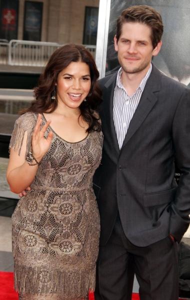America Ferrera and Husband Ryan Piers Williams Photo