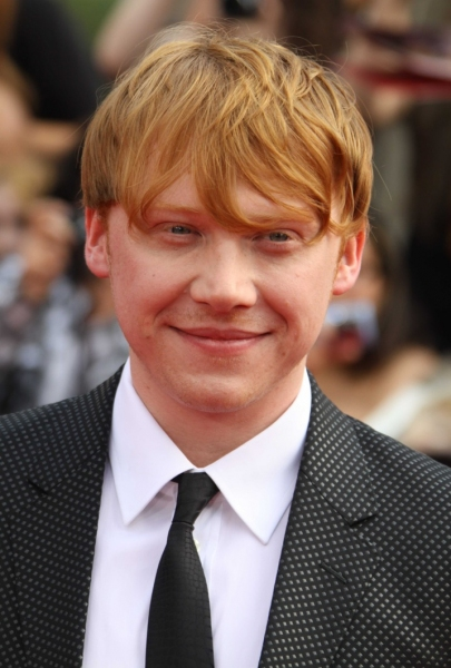 Rupert Grint at Daniel Radcliffe, Alan Rickman & More at the HARRY POTTER AND THE DEATHLY HOLLOWS NYC Premiere