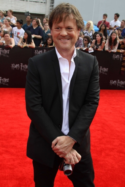 Screenwriter Steve Kloves at Daniel Radcliffe, Alan Rickman & More at the HARRY POTTER AND THE DEATHLY HOLLOWS NYC Premiere