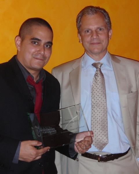 Kristoffer Diaz and Arthur Sulzberger Jr.