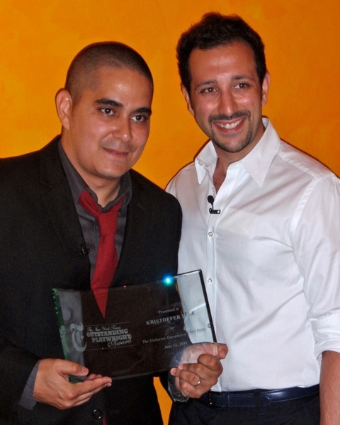 Kristoffer Diaz and Desmin Borges  Photo