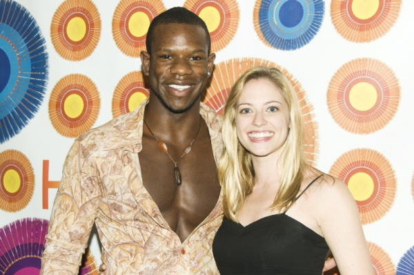 Antwayn Hopper & Natalie Bradshaw at HAIR Re-Opens on Broadway for 'Summer of Love'!