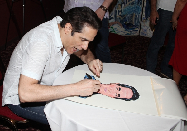 Yul Vazquez attending the celebration as Sardi's honors all five cast members from the Broadway production of 'The Motherf**ker with the Hat'  in New York City