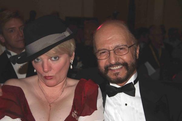 Alison Arngrim and husband Bob Schoonover