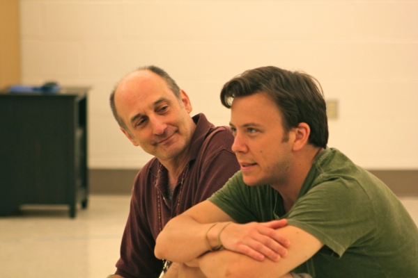 Philip Hoffman, Eric T. Miller at In Rehearsal with Hangar Theatre's EVER SO HUMBLE