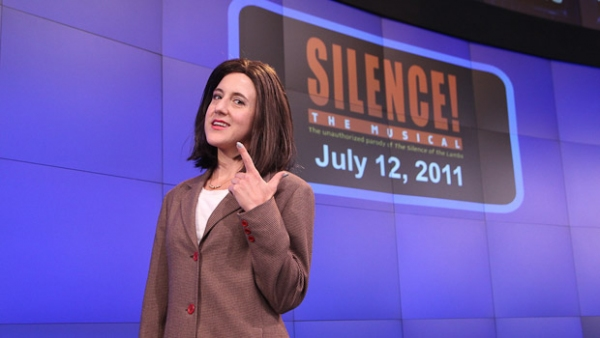 Photo Flash: SILENCE! The Musical Rings NASDAQ Closing Bell