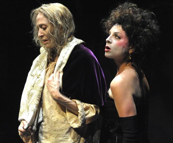 Jan Maxwell and Michaela Lieberman