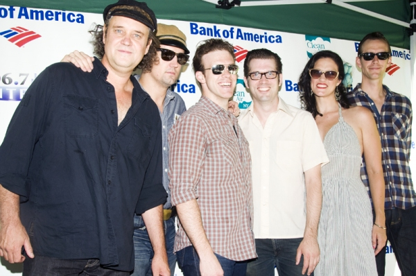 Lance Guest, Eddie Clendening, Victoria Matlock & Robert Britton Lyons,  Colte Jilian & Corey Kaiser at Aaron Tveit, Christopher Sieber, et al. Perform at Broadway in Bryant Park!