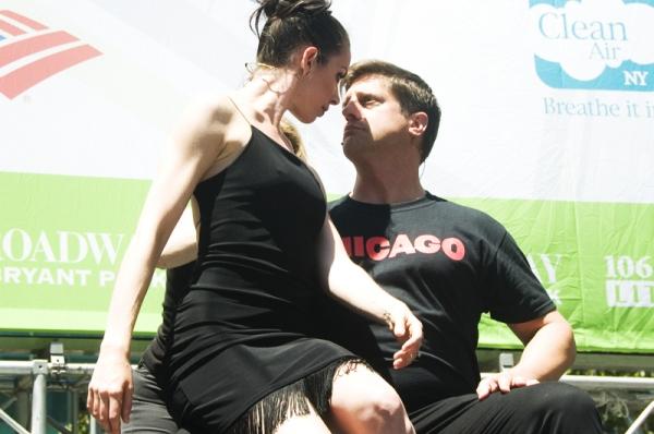Melissa Rae Mahon & Christopher Sieber