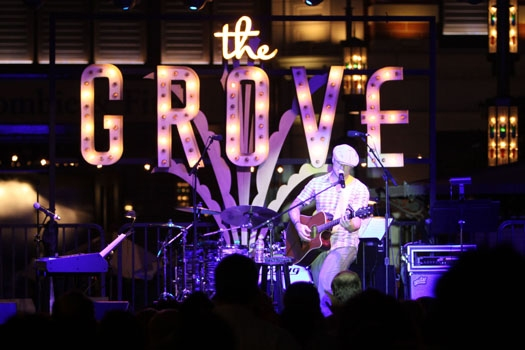 Blake Lewis performs at The Grove Summer Concerts Series