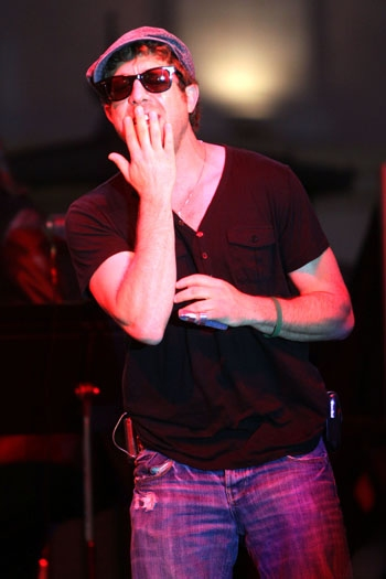 Elliot Yamin performs at The Grove Summer Concert Series